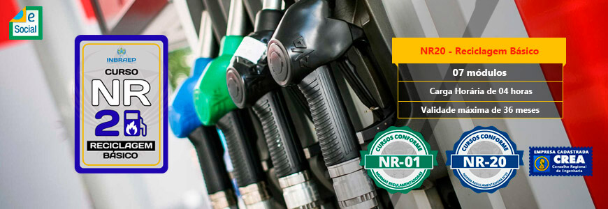 NR20 - Reciclagem Básico