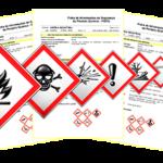 Ficha com dados e rotulagem de produtos químicos conforme GHS
