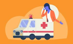 Acionamento dos serviços de emergência